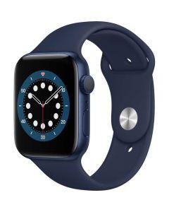 Apple Watch Series 6 GPS, 44mm, Space Gray, Aluminium Case, Black Sport Band_1