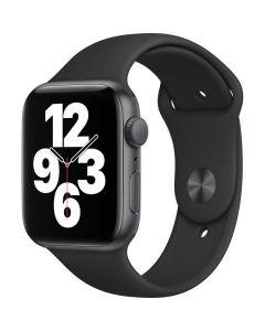 Apple Watch Series SE GPS, 44mm, Space Gray, Aluminium Case, Black Sport Band_1