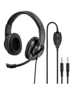 Casti PC On-Ear Hama HS-P300, Negru