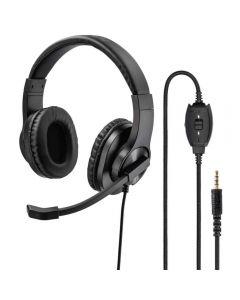Casti PC On-Ear Hama HS-P350, Negru
