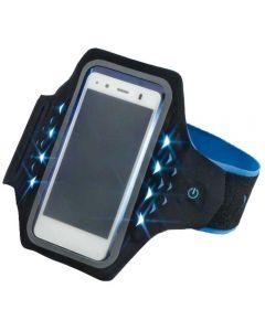 Suport universal pentru brat Hama Active, LED, Albastru_1