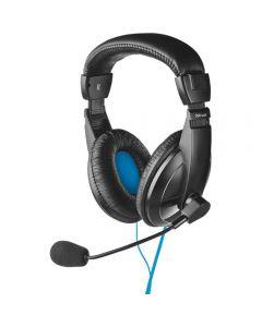 Casti PC On-Ear Trust Quasar, Negru_1