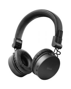 Casti audio On-Ear Trust Tones, Bluetooth, Negru_1