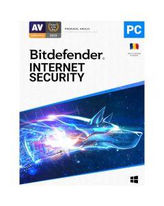 Bitdefender Antivirus Internet Security 2021, 1 an, 1 utlizator