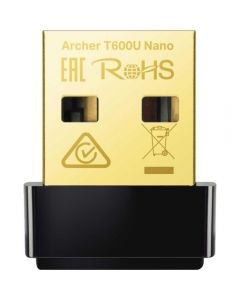 Adaptor wireless Archer T600U Nano, AC600, USB_1