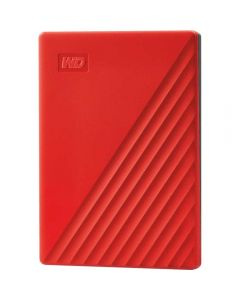"HDD extern WD My Passport 2TB, 2.5"", USB 3.2 Gen1, Rosu_1"