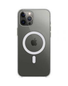 Husa de protectie Apple Clear Case pentru iPhone 12 Pro Max, MagSafe, Transparent_1