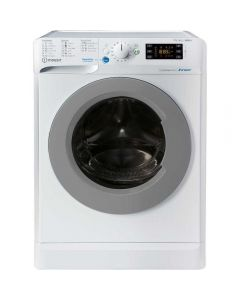 Masina de spalat rufe cu uscator Indesit BDE 761483X WS EE N, 1400 RPM, 7 kg spalare, 6 kg uscare, Clasa A