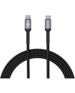 Cablu de date Tellur TLL155374, Type C, 1m, Negru_1