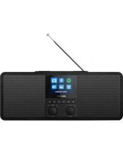 Internet radio Philips TAR8805/10, FM, Bluetooth, Negru_1