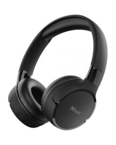 Casti audio On-Ear Trust Zena, Bluetooth, Negru_1