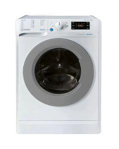 Masina de spalat rufe cu uscator Indesit BDE 861483X WS EU N, 1400 RPM, 8 kg spalare, 6 kg uscare, Clasa D, Alb