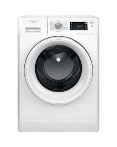 Masina de spalat rufe Whirlpool FFB 9458 WV EE, 1400 RPM, 9 kg, Fresh Care+, Motor Inverter, Clasa B