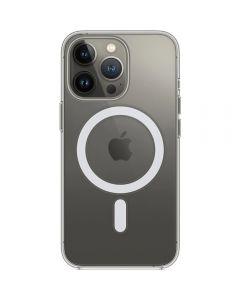 Husa de protectie Apple Clear Case with MagSafe pentru iPhone 13 Pro, Transparent