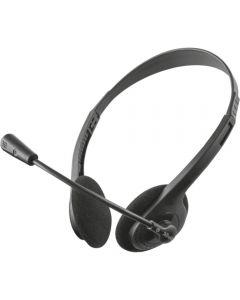 Casti PC On-Ear Trust TR-21665, Microfon, Negru