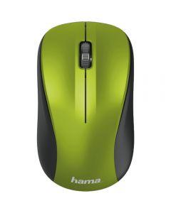 Mouse wireless Hama MW-300, Lime_001