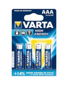Baterii Varta High Energy AAA, 4 buc_1