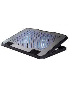 "Stand/Cooler Hama 53064 pentru notebook 15.6"", Aluminiu"