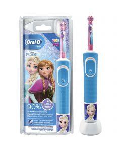 Periuta de dinti electrica pentru copii Oral-B Vitality D100.413.2K Froze_1