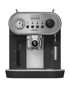 Espressor manual Gaggia Carezza Deluxe RI8525/01, 1900 W, 1.4 L, 15 bar, Negru