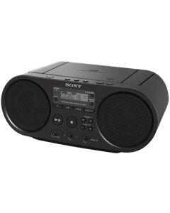 Microsistem audio Sony ZSPS50B, CD Player, Tuner FM, 2x2W, USB, Negru_1