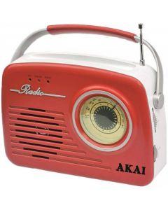 Radio portabil Akai APR-11R Rosu_001