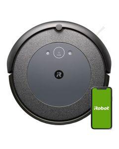 Aspirator robot iRobot Roomba I3 DARK 3154, Wi-Fi, Multi suprafete, 1800 mAh, Gri inchis