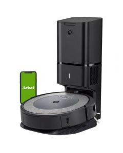 Aspirator robot iRobot Roomba I3+ LIGHT 3556, Wi-Fi, Li-Ion, Gri deschis