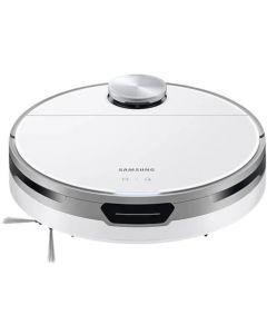 Aspirator robot Samsung JetBot+ VR30T85513W/GE, Clean Station, Senzor Li-Dar, Motor Digital Inverter, Select & Go, No go Zone, Aspirare uscata, 60W, 0.3L, Alb