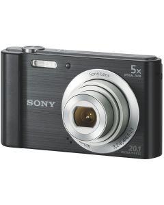 Aparat foto digital Sony DSCW800, 20MP, Negru