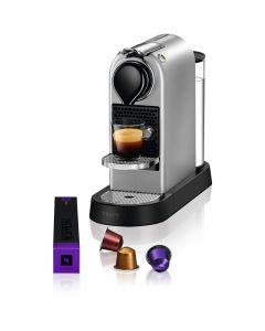 Espressor Nespresso Citiz XN741B10, 1260 W, 1 L,19 Bar, Argintiu