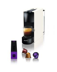 Espressor Nespresso Krups Essenza Mini XN110110, 1300 W, 19 Bar, 0.6 L, Alb