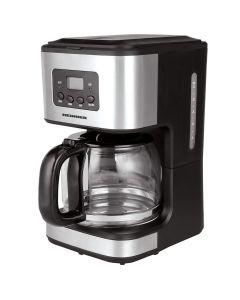 Cafetiera Heinner HCM-D915, Sistem anti-picurare, 900 W, 1.5 l, Negru-1