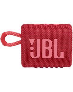 Boxa portabila JBL GO 3 Waterproof, Bluetooth, IPX67, Autonomie pana la 5 ore, Rosu