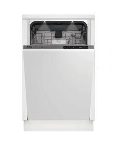 Masina de spalat vase incorporabila Beko DIS28122, 11 seturi, 8 programe, Clasa E