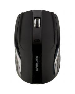 Mouse wireless Serioux Rainbow 400 USB Negru_001