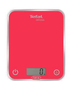 Cantar electronic de bucatarie Tefal BC5003, 5 kg, Roz