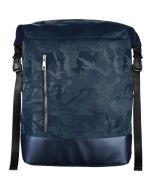 """Rucsac laptop Hama Mission Camo roll-top, 15.6"""", Albastru_1"""