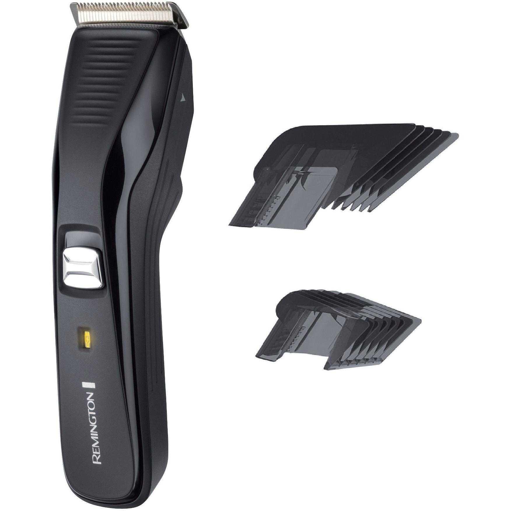 Aparat de tuns parul si barba Remington HC5200, Acumulator, 3-42 mm, Negru
