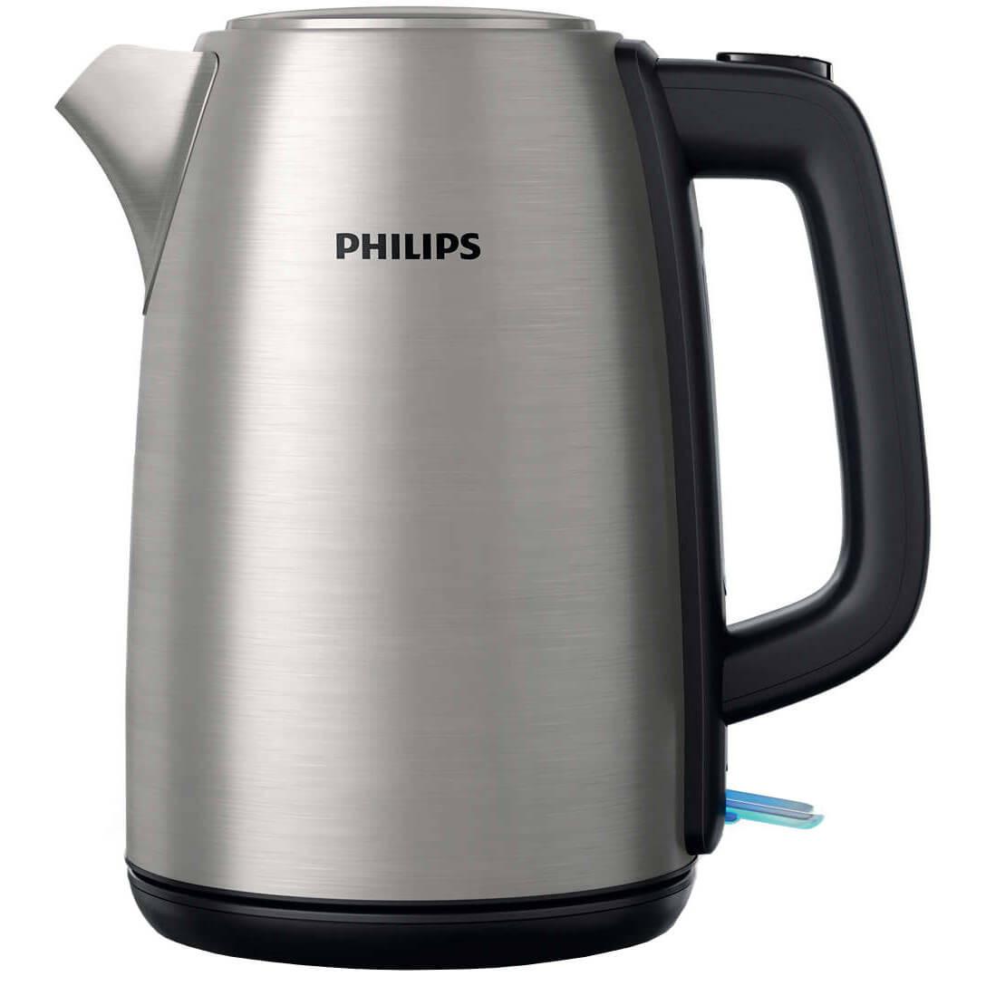 Fierbator Philips HD9351/91, 2200 W, 1.7 l, Argintiu