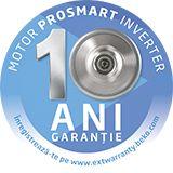 10 ani garantie pentru motor masini de spalat rufe