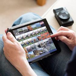 Distribuiti si stocati fotografiile prin Wi-Fi si Bluetooth