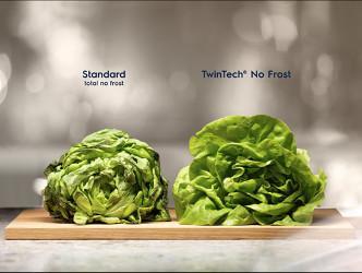 TwinTech® No Frost previne uscarea alimentelor