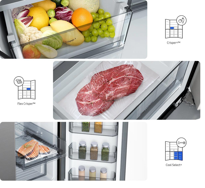 Depozitare flexibila a alimentelor pentru prospetime indelungata