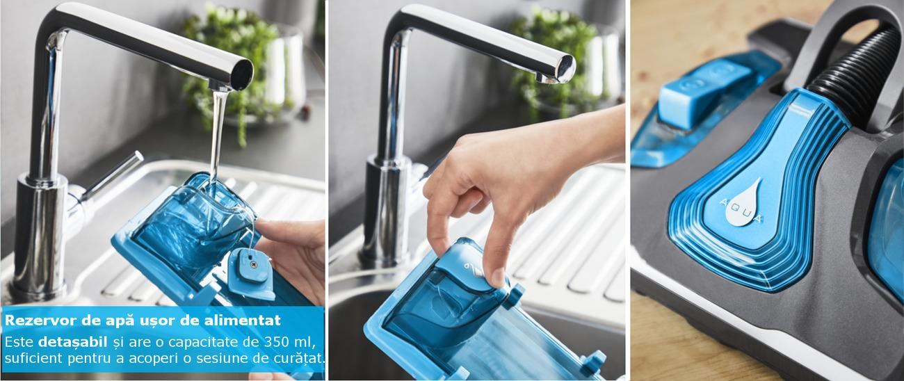 Rezervor de apa usor de alimentat