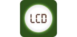 Control electronic cu afisaj LCD