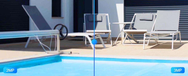 Calitate 3MP Ultra-High Definition