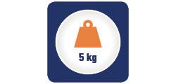 Capacitate maxima de cantarire 5 kg