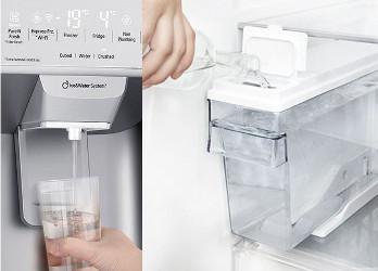 Distribuitor de apa/ gheata fara racordare la apa