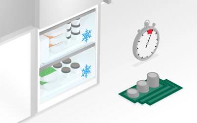 Nu trebuie sa mai dezgheti vreodata congelatorul.